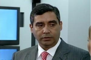EL MINISTRO DE RELACIONES INTERIORES, JUSTICIA Y PAZ DE VENEZUELA, MIGUEL RODRÍGUEZ TORRES