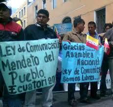 Ecuador cuenta con su Ley de Comunicación