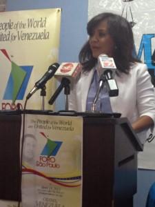 Embajadora Venezolana