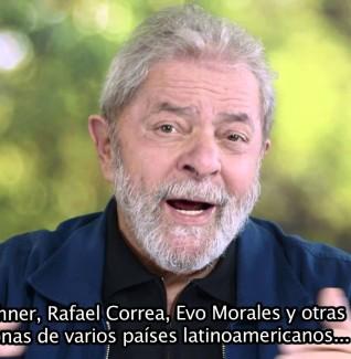 Mensagem do Presidente Lula ao XXI Encontro do Foro de Sao Paulo/ Saludo del Presidente Lula al del XXI Encuentro del Foro de Sao Paulo