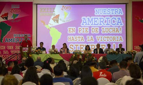FORO DE SAO PAULO SE COMPROMETE A ACOMPAÑAR ELECCIÓN DE CONSTITUYENTE EN VENEZUELA